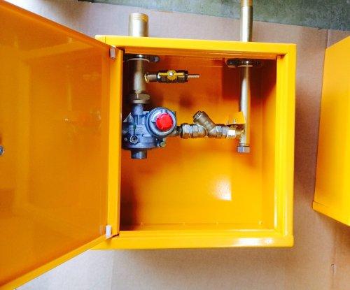Фото выполненного проекта: Домовые шкафы на регуляторах РДГБ 6, FE 6, FE 10, FE 25, RF 25, RF 10 - № 2
