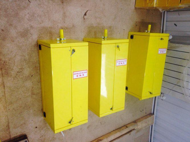 Фото выполненного проекта: Домовые шкафы на регуляторах РДГБ 6, FE 6, FE 10, FE 25, RF 25, RF 10 - № 3