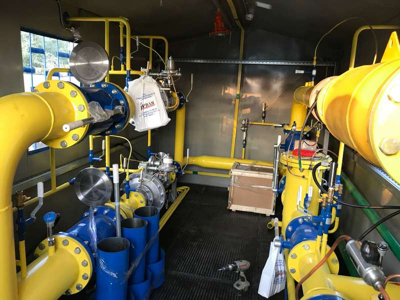 Фото выполненного проекта: ПГБ-100, Межпоселковый газопровод высокого давления - № 2