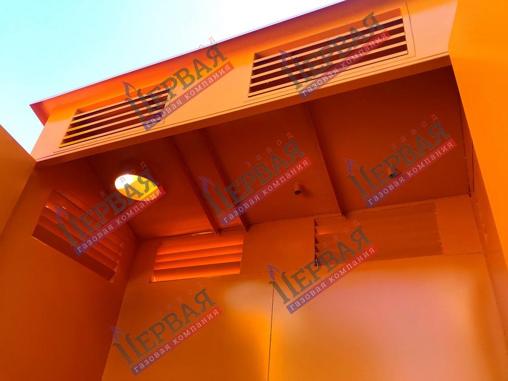 Фото выполненного проекта: Шкаф газовой арматуры - № 4