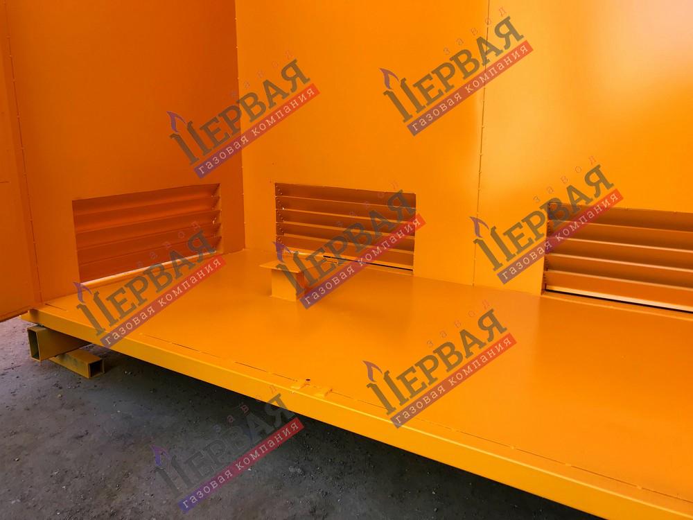 Фото выполненного проекта: Шкаф газовой арматуры - № 5