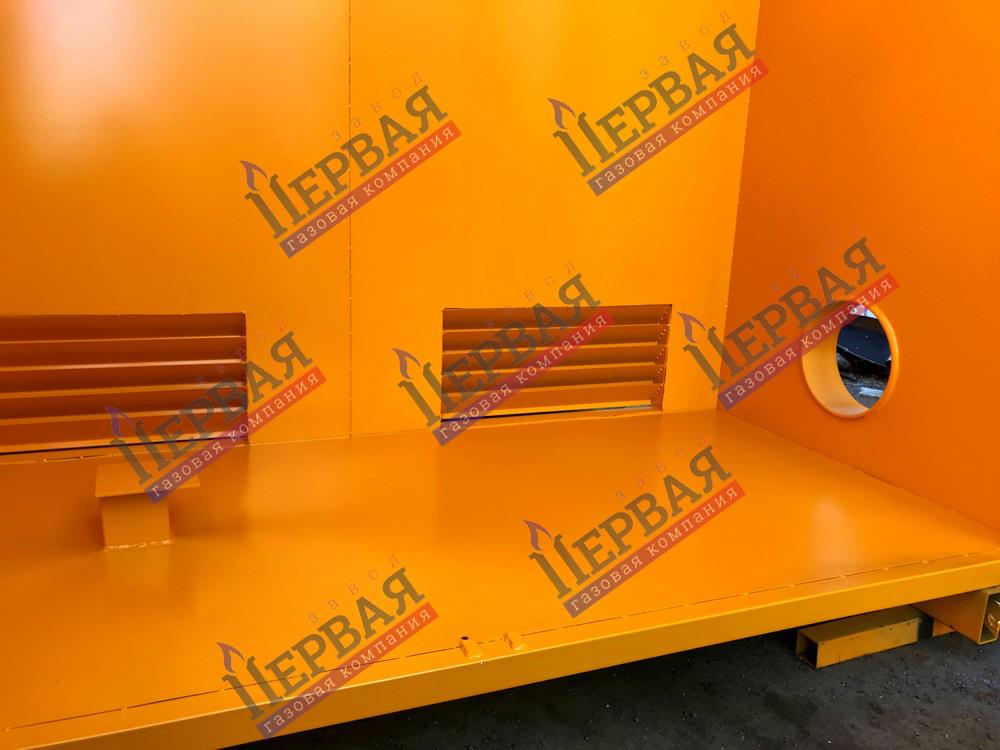 Фото выполненного проекта: Шкаф газовой арматуры - № 7