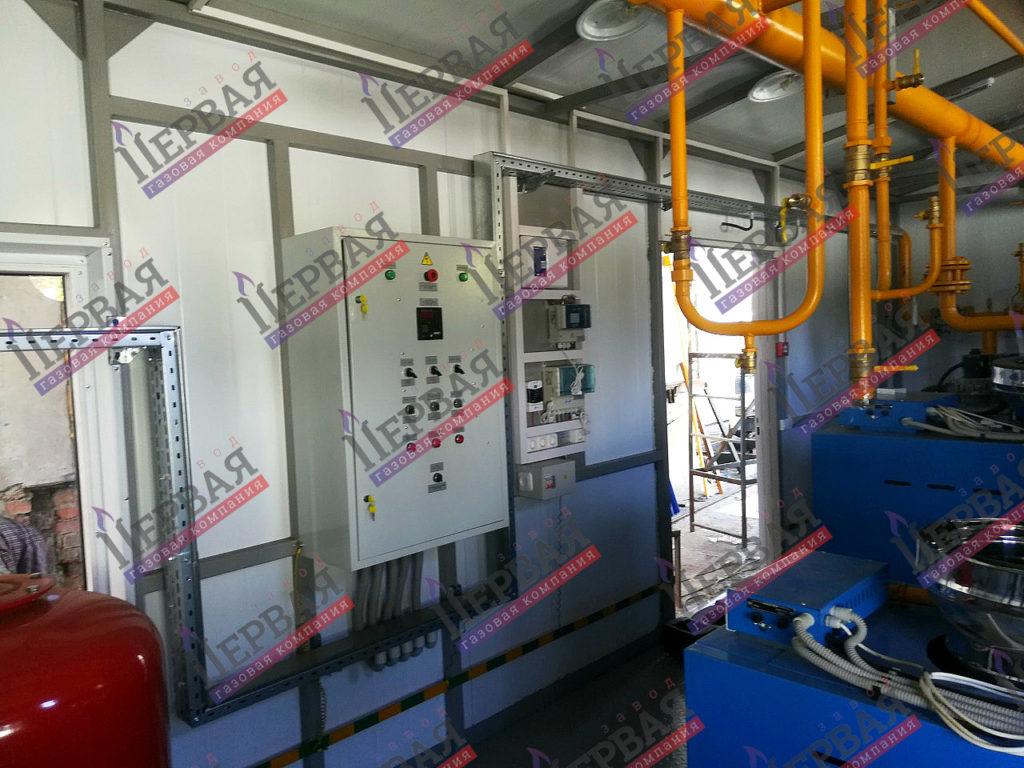 Фото выполненного проекта: БКУ-600 кВт - № 1