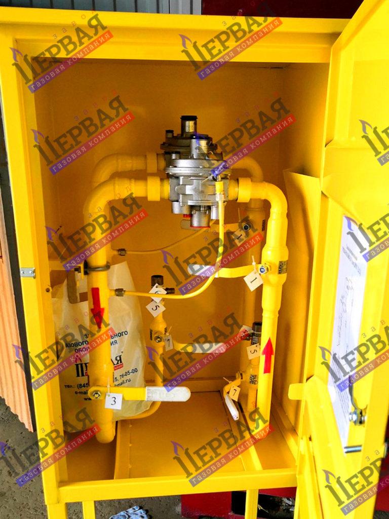 Фото выполненного проекта: Газорегуляторное оборудование, готовое к отгрузке - № 1