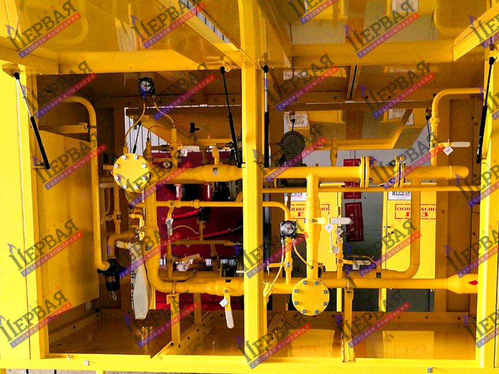 Фото выполненного проекта: Газорегуляторное оборудование, готовое к отгрузке - № 2
