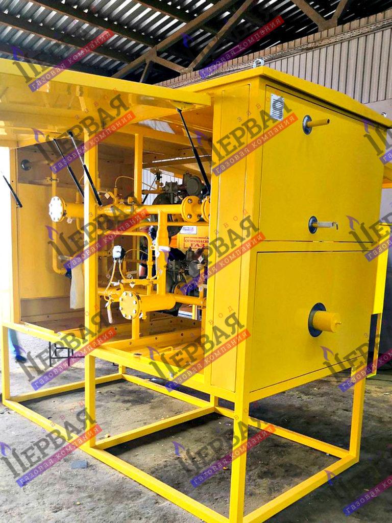 Фото выполненного проекта: Газорегуляторное оборудование, готовое к отгрузке - № 3