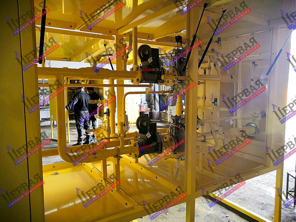 Фото выполненного проекта: Газорегуляторное оборудование, готовое к отгрузке - № 6