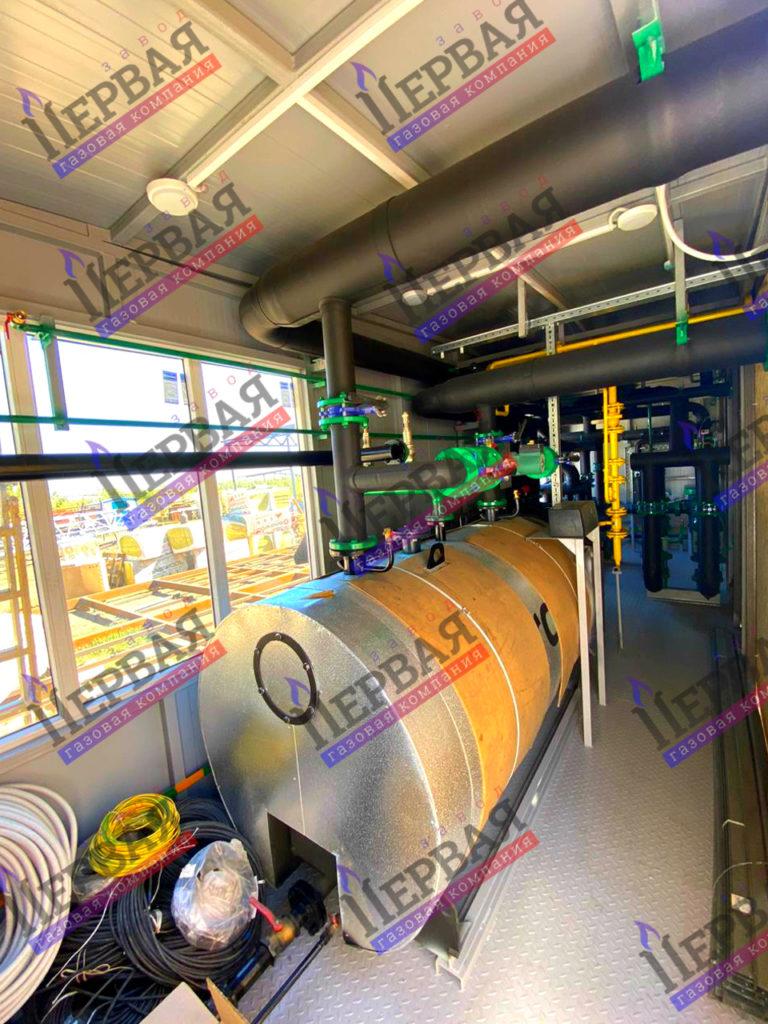 Фото выполненного проекта: БКУ 1800 кВт - № 1