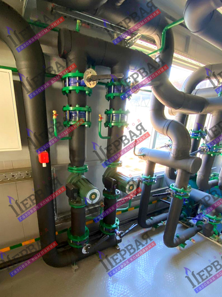 Фото выполненного проекта: БКУ 1800 кВт - № 5